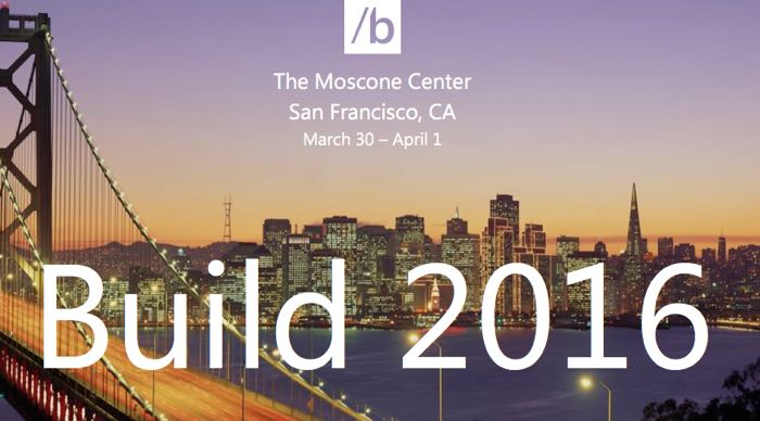 Microsoft Build 2016 conference
