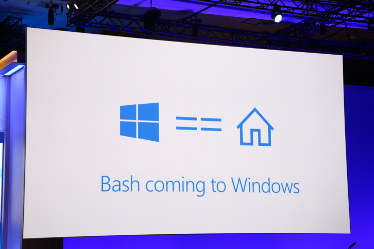 Bash coming to Windows
